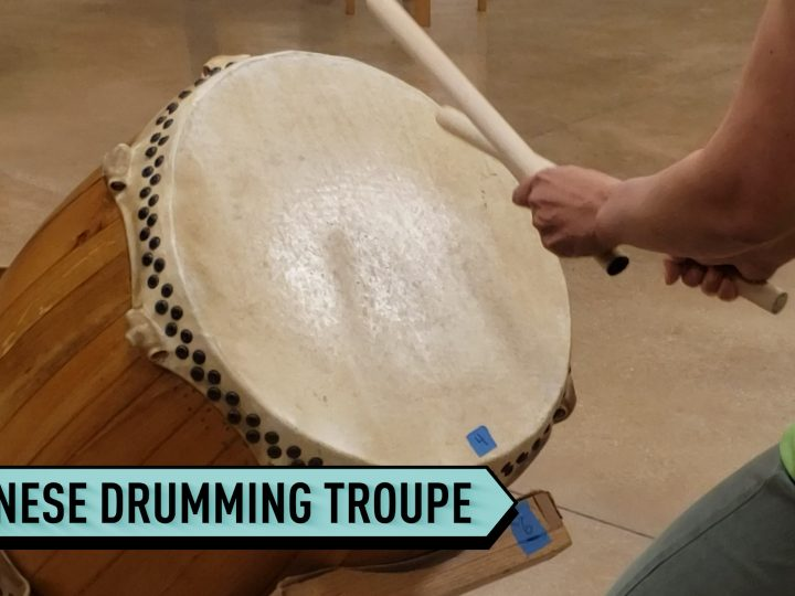 Chicago troupe practices the art of Japanese drumming
