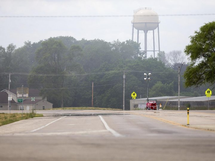 Evacuation order lifted after Illinois chemical plant blast