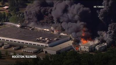 Illinois chemical plant explosion, fires prompt evacuations   Business News