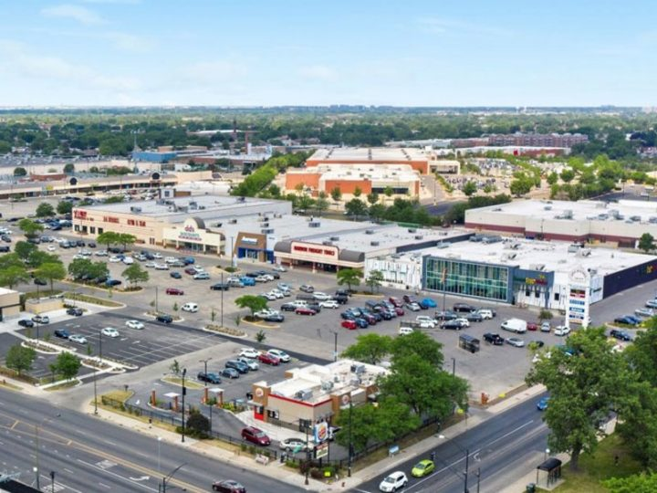 Chicago's West Side Bricktown Square shopping center sold to NewMark Merrill