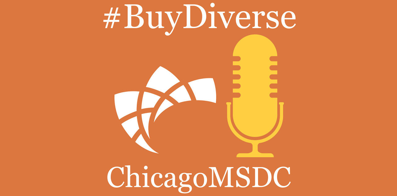 #BuyDiverse talks with the Illinois Tollway's Terry Miller and Jerome' Holston of the LGBT Chamber of Commerce