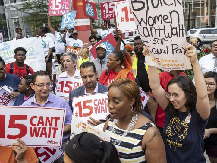 $15 an hour is a reality in Chicago today because workers like me fought and won
