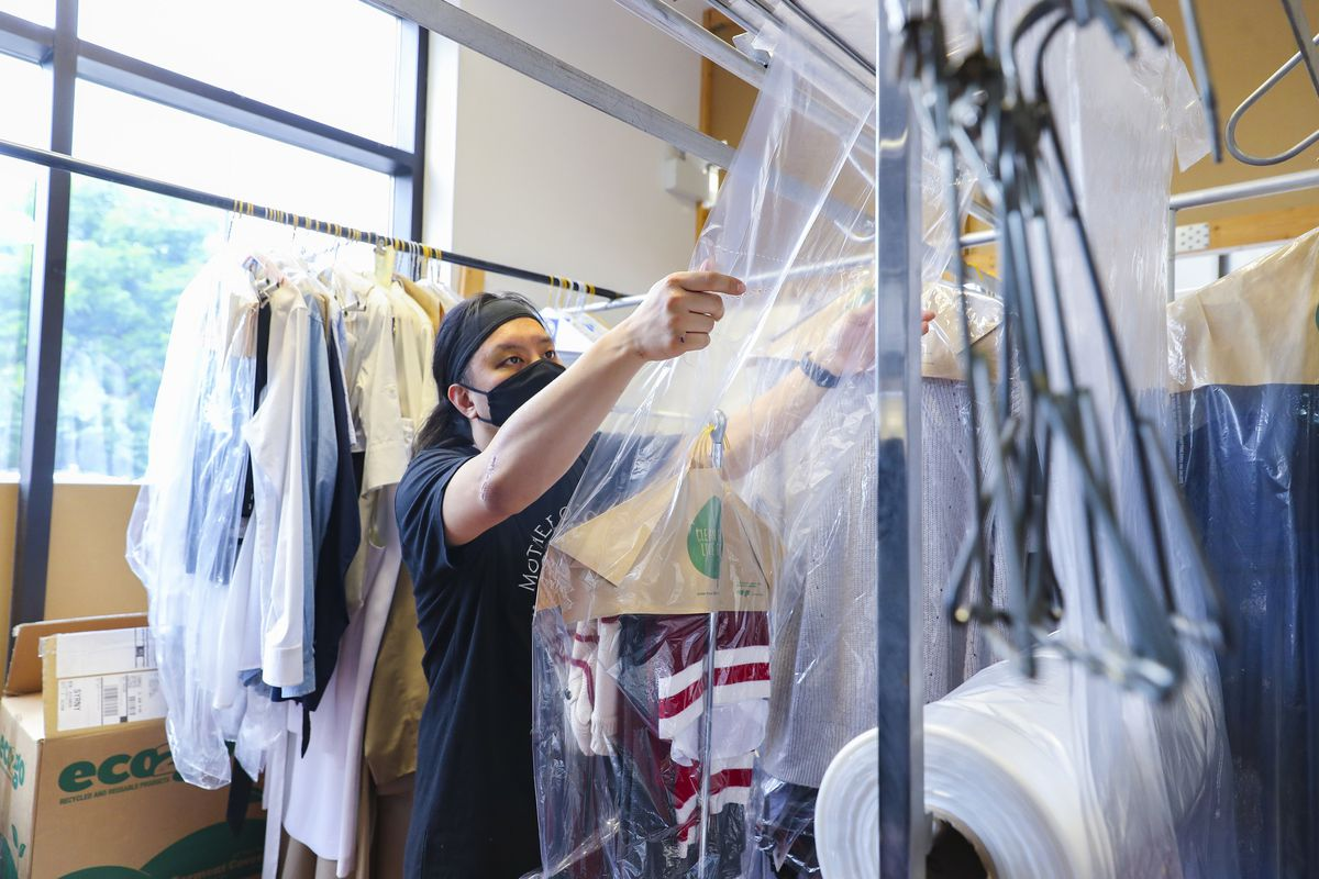 Offices are reopening, but business isn't rebounding at dry cleaners: 'It's kind of a dying service'
