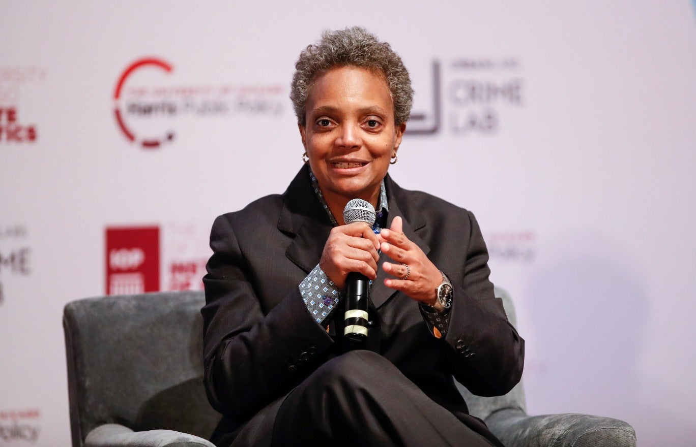 Chicago mayor defends her decision to grant interviews exclusively to people of color