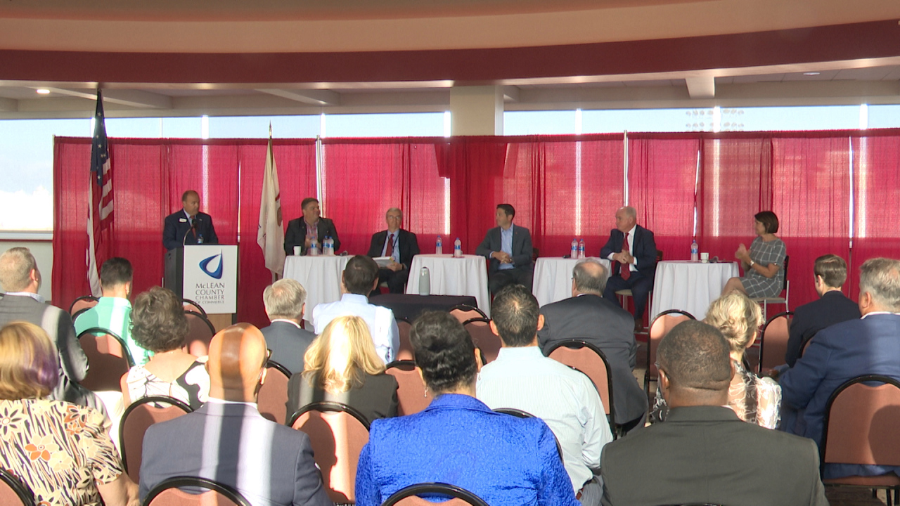 Republicans and Senators in McLean County tackle the local business economy