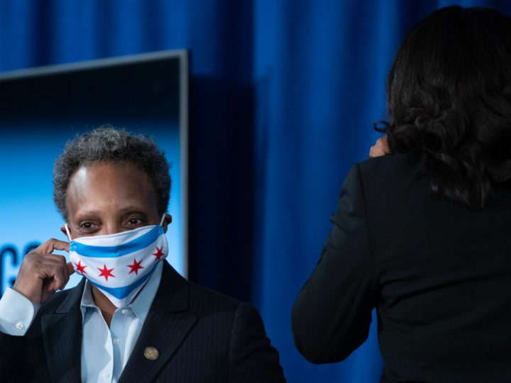 Masks Could Be Required In Chicago Again as COVID Spikes, Lightfoot Warns