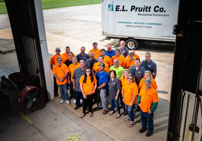 E.L. Pruitt celebrates 50 years of contract work in Springfield