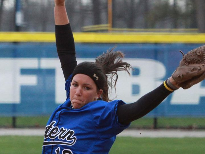 Kindred: 'Stubborn' Amber May sticks with pitching, earns spot in Eastern Illinois Hall of Fame | Sports