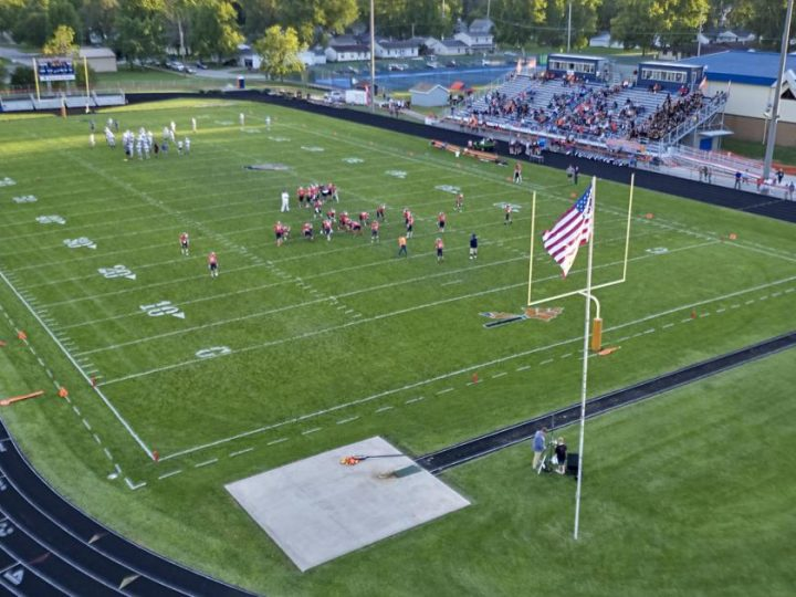 A tour of the football fields of Central Illinois   Sports