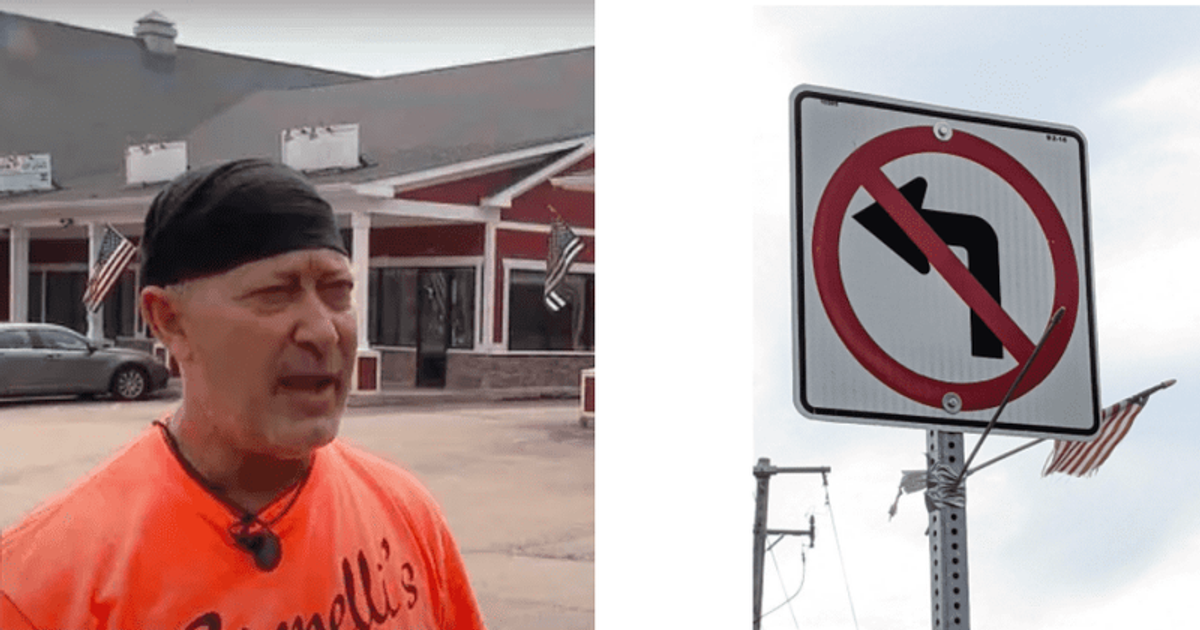Terry Trobiani: Illinois drive-thru manager claims flying US flags on July 4 led to $200 in fines