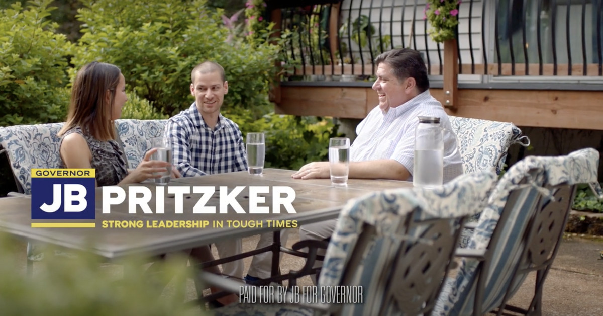 Gov. Pritzker airs first TV ads in his reelection campaign