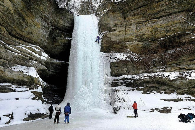 Starved Rock in Illinois serves as model for Peoria area