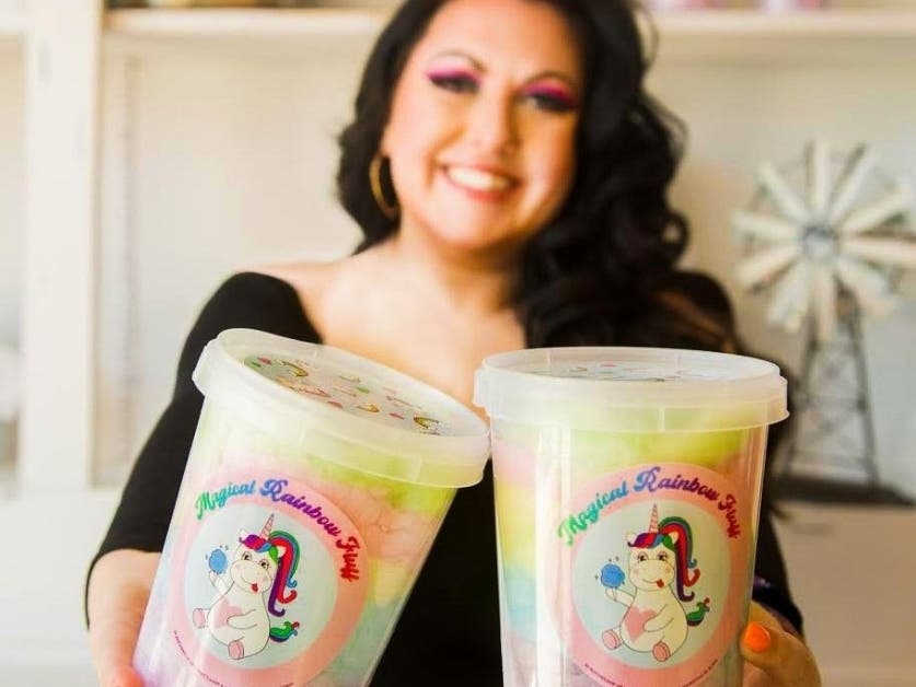 Small Business Owners Launch 'Magical Rainbow Fluff' Cotton Candy