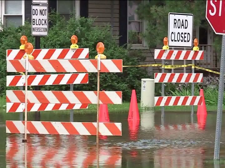 Flash flooding takes out bridge in north central Illinois