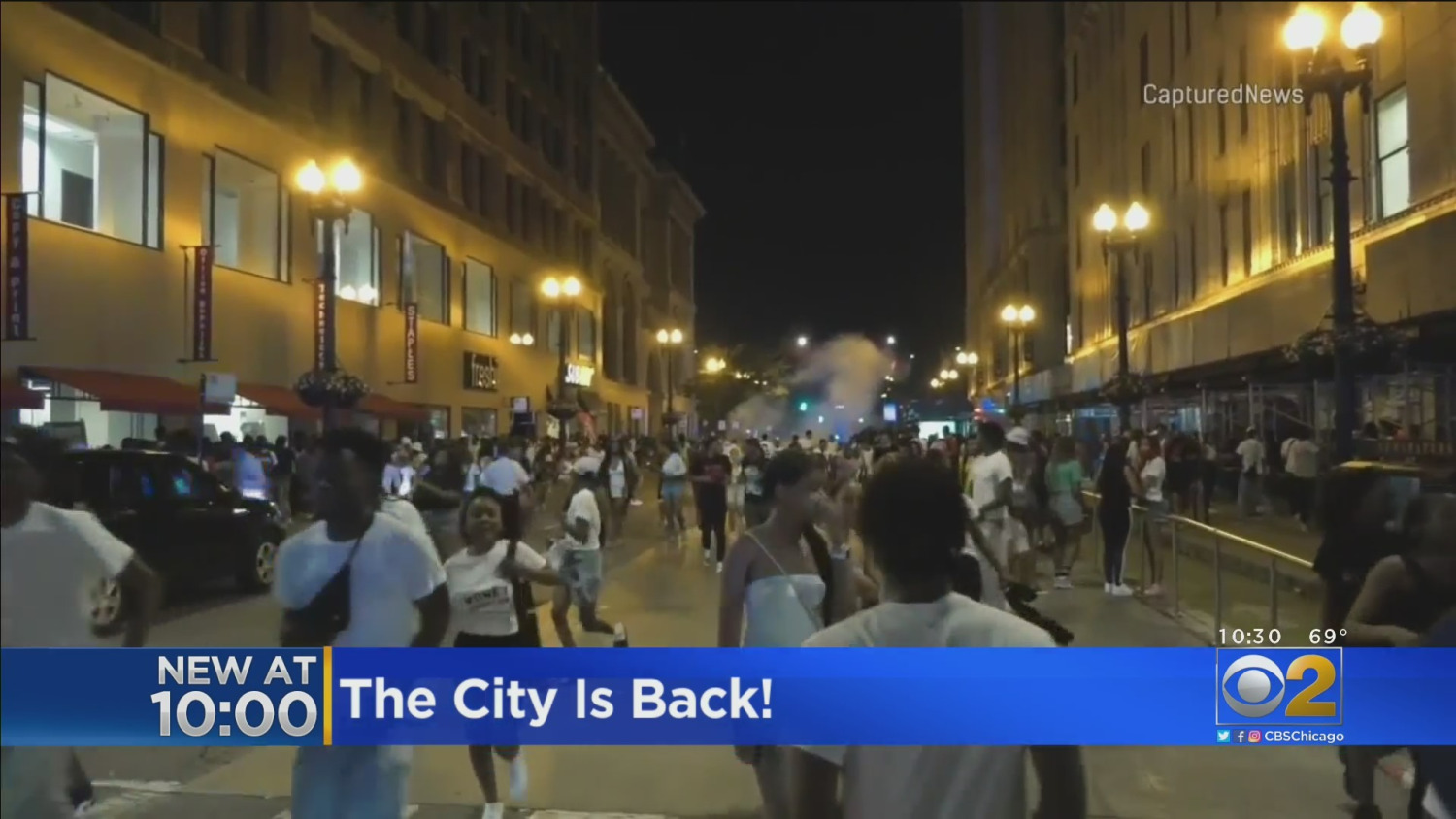 Chicago Businesses Worry Recent Violence Could Sway Shoppers Not To Come Downtown – CBS Chicago
