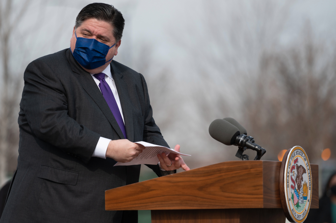 Illinois' Mask Mandate Returning, And Some State Workers Must Get Vaccinated, Pritzker To Announce: Reports
