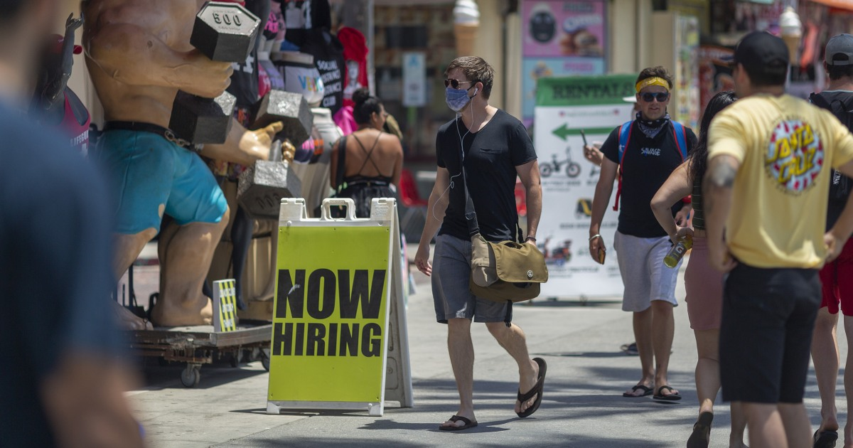 The United States now has more jobs than ever in history