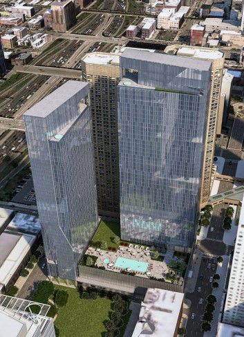 Chicago Plan Commission backs 4 new downtown towers