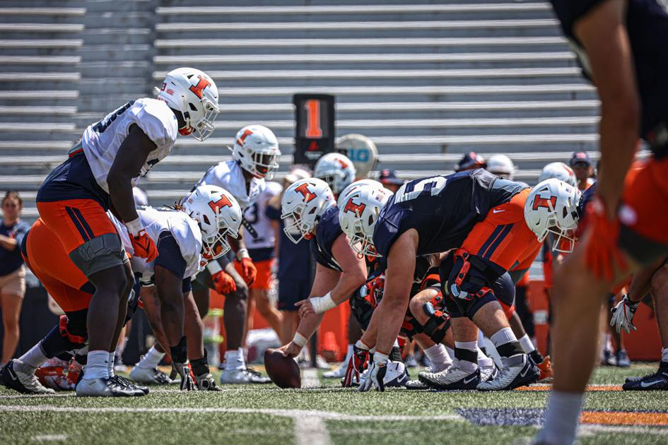 Experience a boon for Illini offensive line | Sports