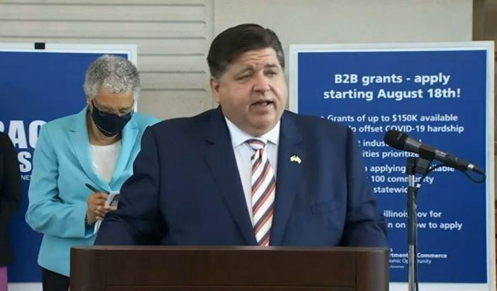 Watch now: Illinois announces $250 million 'Back to Business' grant program   State