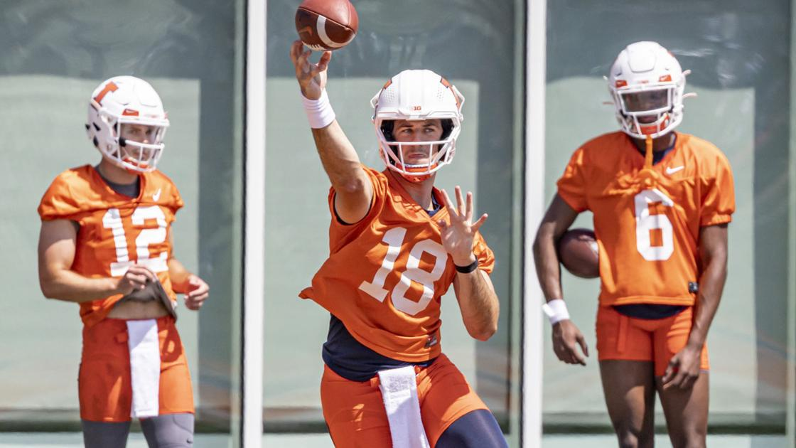 James Boyd's coverage of Illinois football training camp