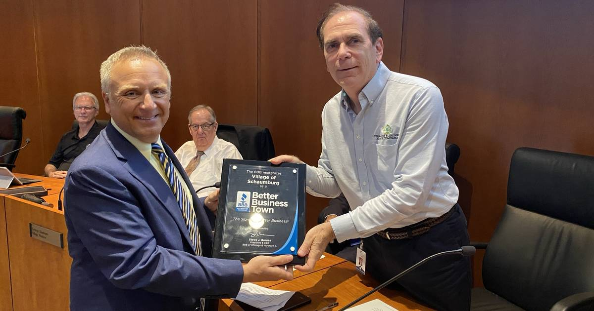 Village of Schaumburg Recognized as a Better Business Town