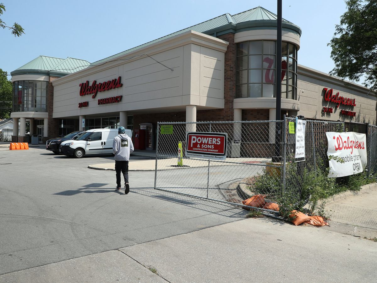 More than a year after last summer's civil unrest, Walgreens is just reopening three South Side stores. A fourth will take even longer.