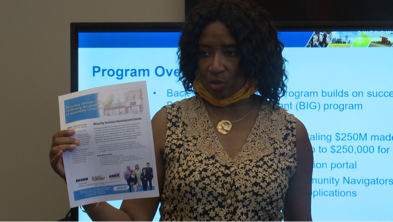 Minority Business Development Center hosts forum in Twin-Cities, helps business owners navigate the Back 2 Business grant
