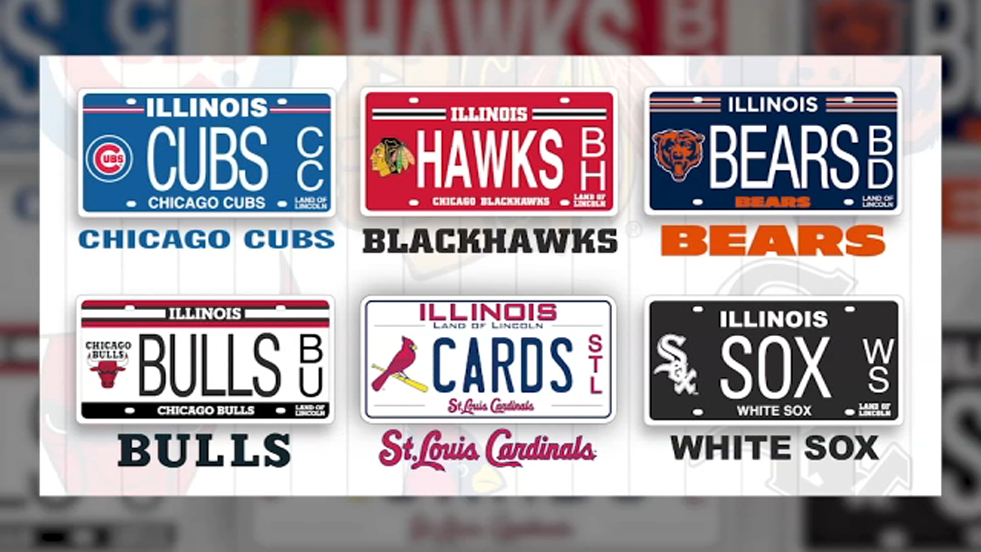 Illinois public school get $13M from professional sports team specialty license plates, Secretary of State Jesse White says